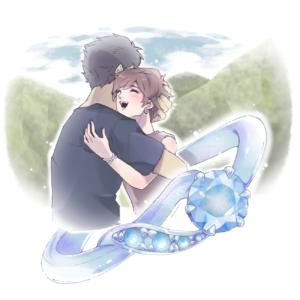 Kamm 礼子・高山が熱い抱擁を交わす Ring Story Album