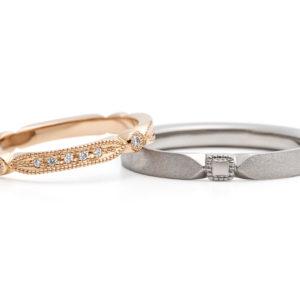 婚約指輪・結婚指輪と「ミル打ち」