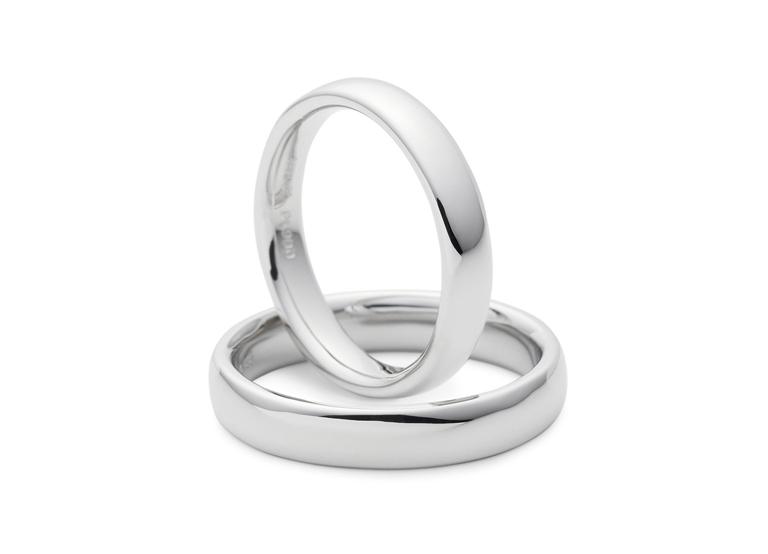 プラチナ(Pt900SHP)製の結婚指輪