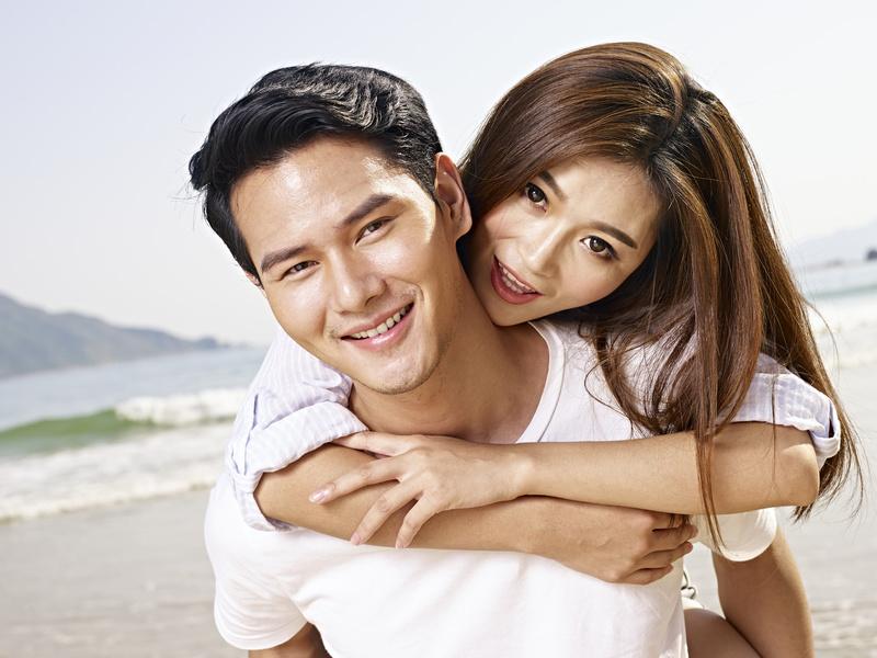 恋する韓国の男女