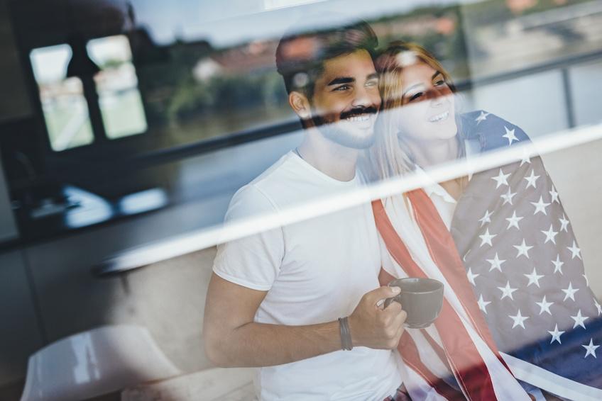 アメリカンな夫婦(おふたり)