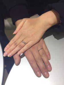 セミオーダーでおふたりらしく♡結婚指輪♡お客様のご紹介