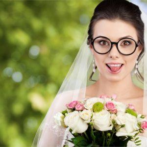 結婚式で素敵なドレス姿をお披露目するための「メガネ」の話
