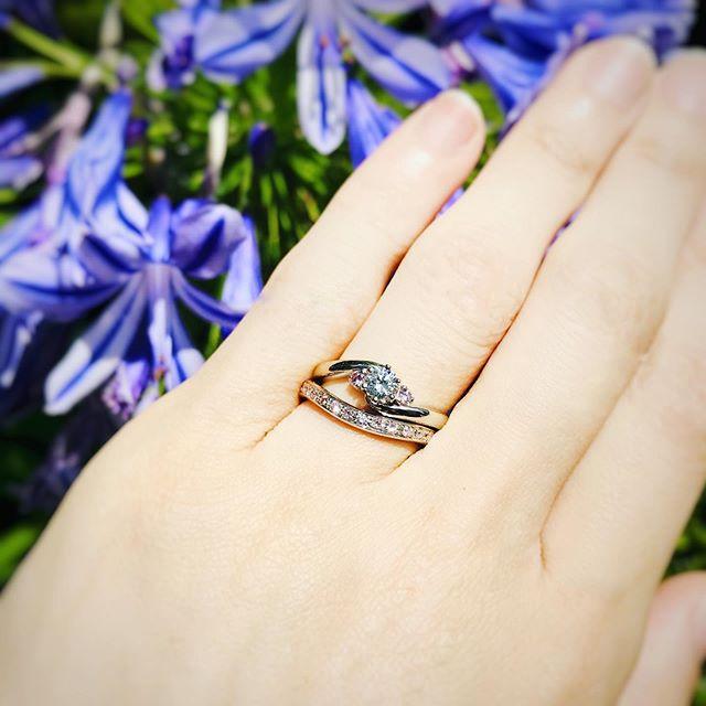 生花と指輪