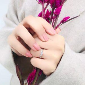 AFFLUXの無限大のオーダーメイドでよりエレガントに昇華した婚約指輪をご紹介♪