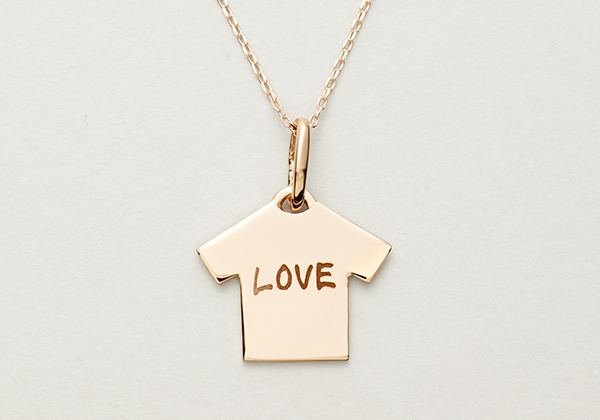 TEE PLATE NECKLACE